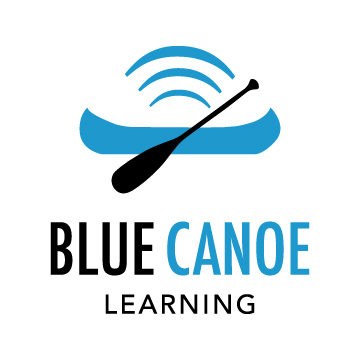 Blue Canoe Learning Logo